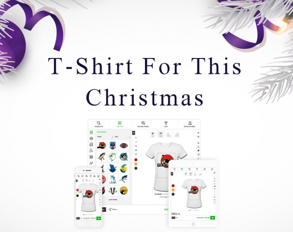Create A Personalized T-shirt For this Christmas Eve