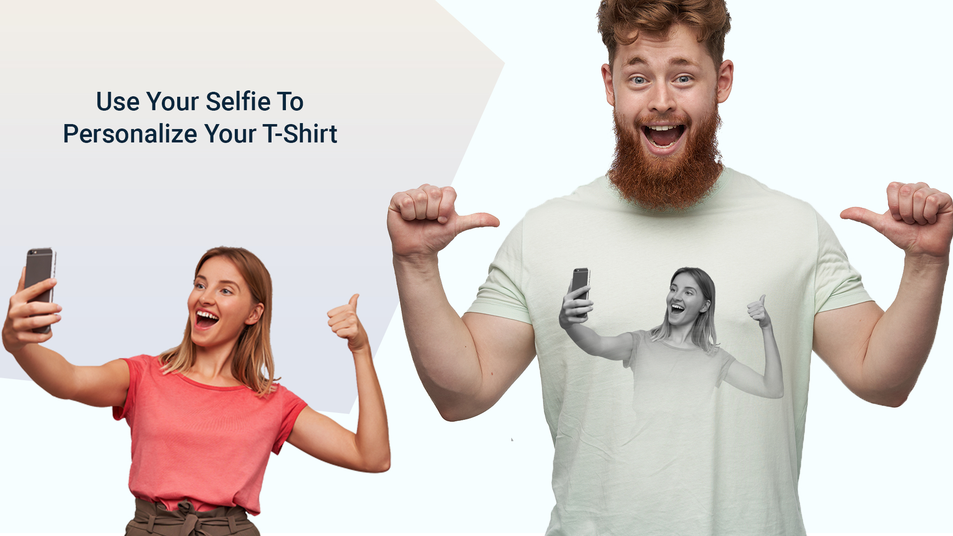 Use Your Selfie to Personalize Your T-shirt