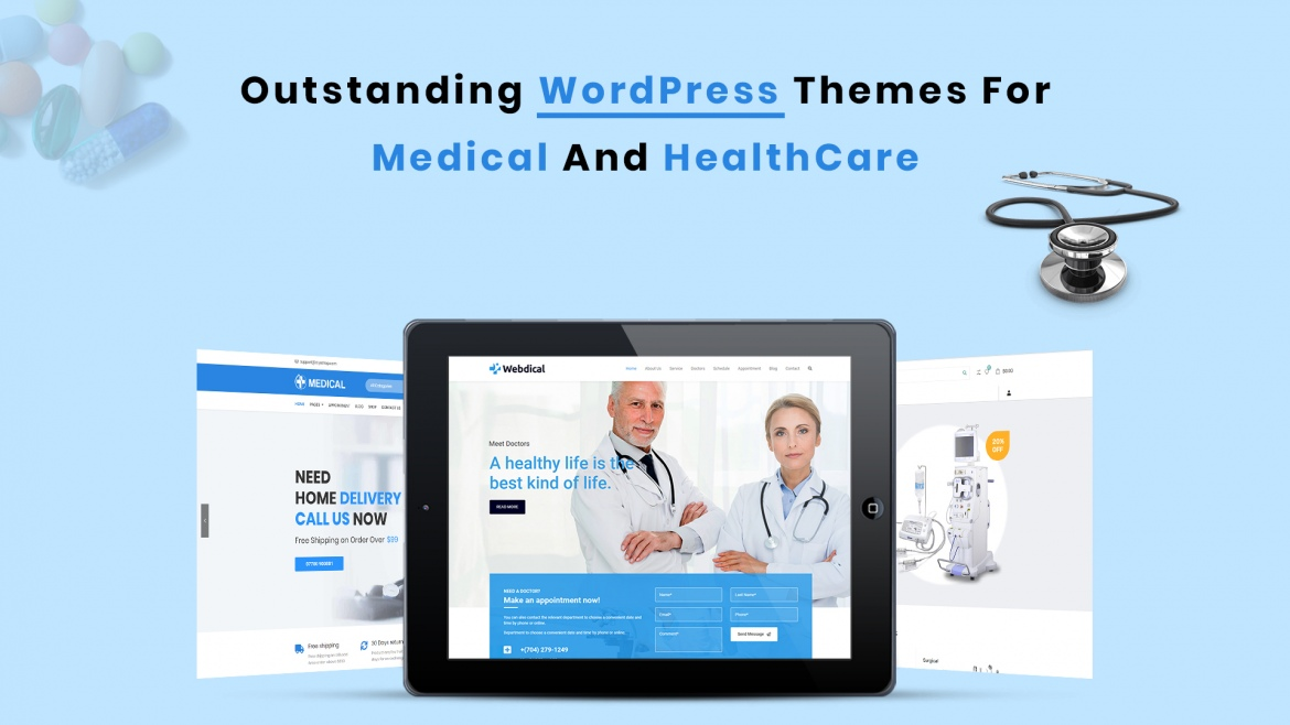 List of Outstanding WordPress Themes for Medical & HealthCare Website