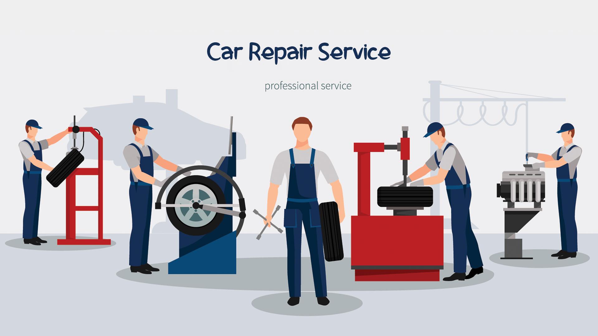 List of Top WordPress Themes for Car Repair Service