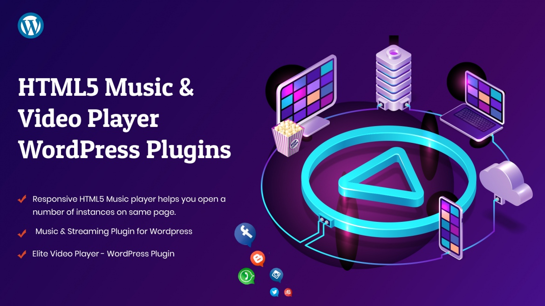 Top WordPress HTML5 Music and Video Player Plugins