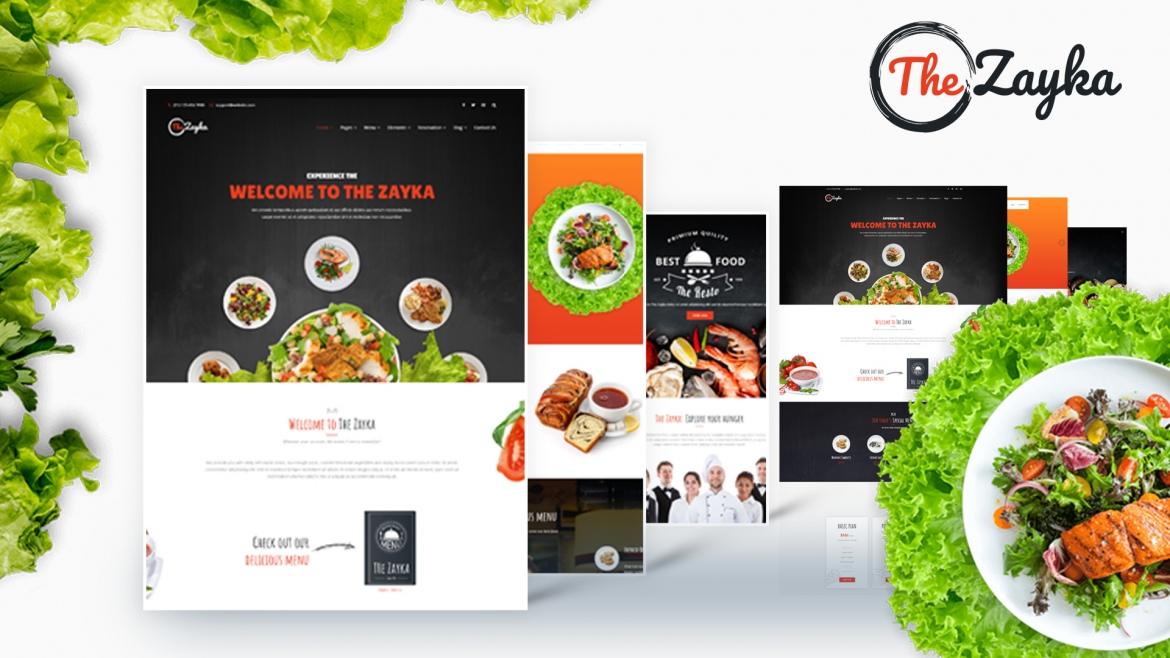 Know About The Zayka-Multipurpose Restaurant HTML5 Template