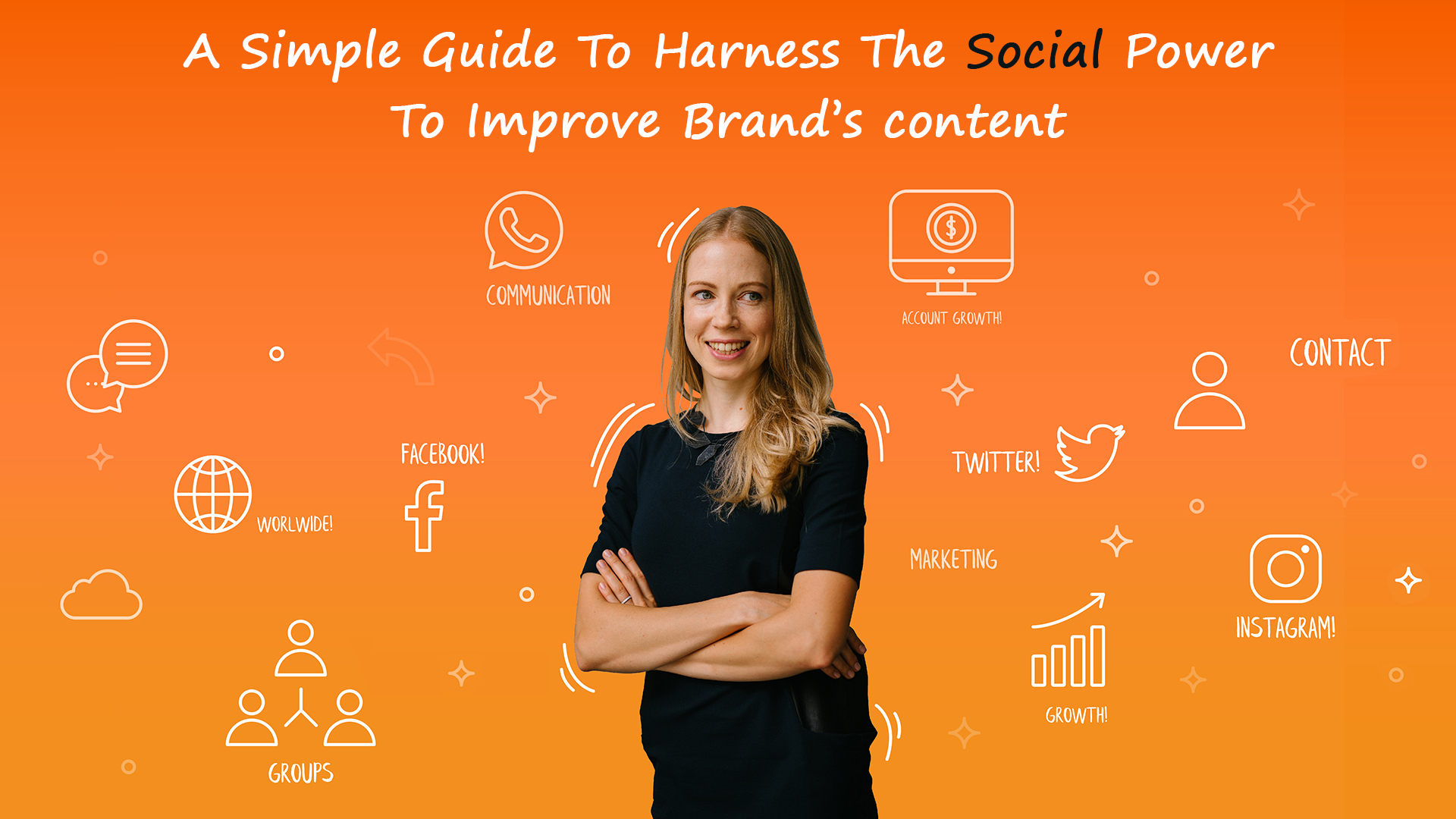 A Simple Guide To Harness The Social Power To Improve Brand's content