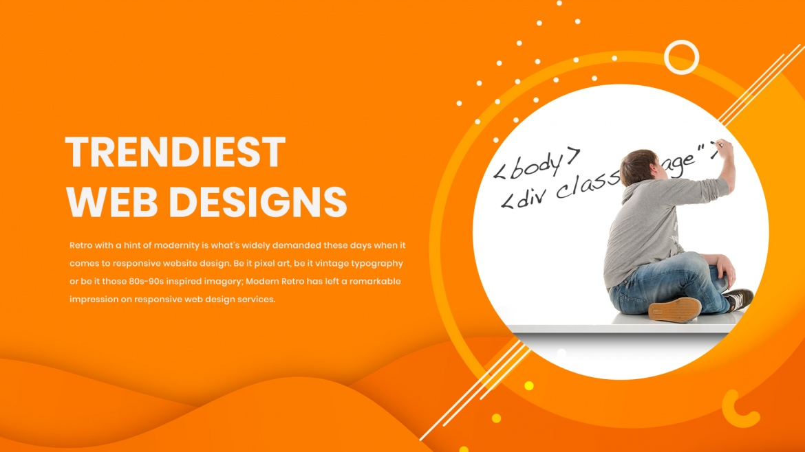"""Trendiest web designs that are totally """"IN"""" for 2017"""