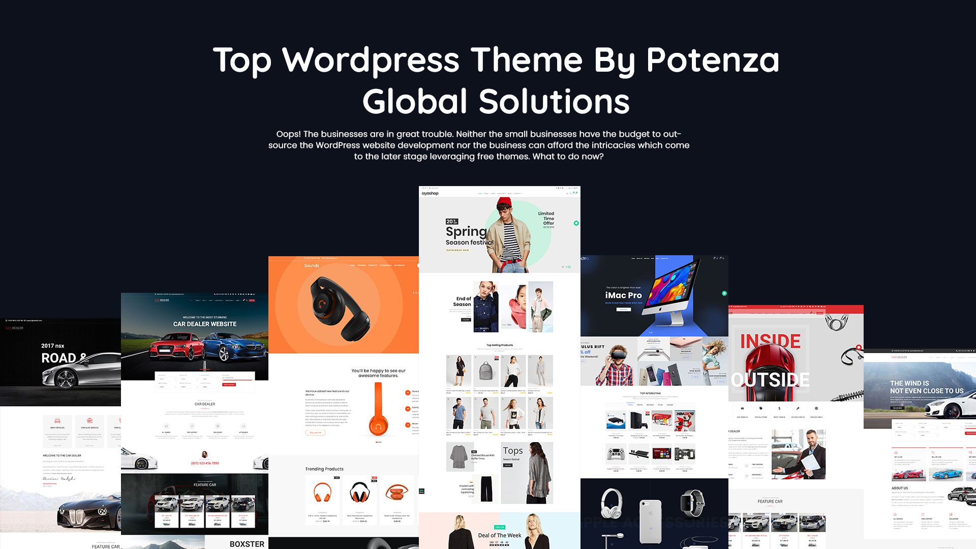 Top Wordpress Theme By Potenza Global Solutions