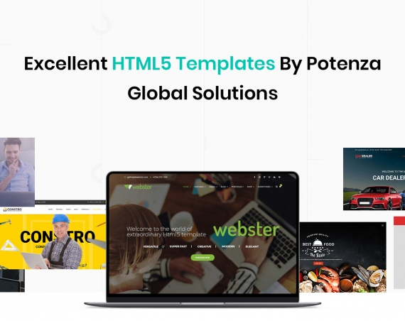 Excellent HTML5 Templates by Potenza Global Solutions
