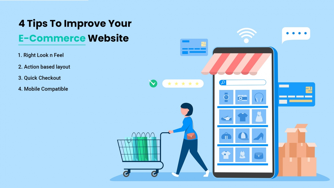 4 Tips To Improve Your E-Commerce Website
