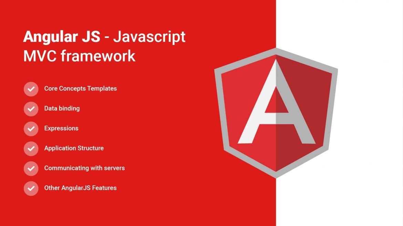 Angular JS - Javascript MVC framework