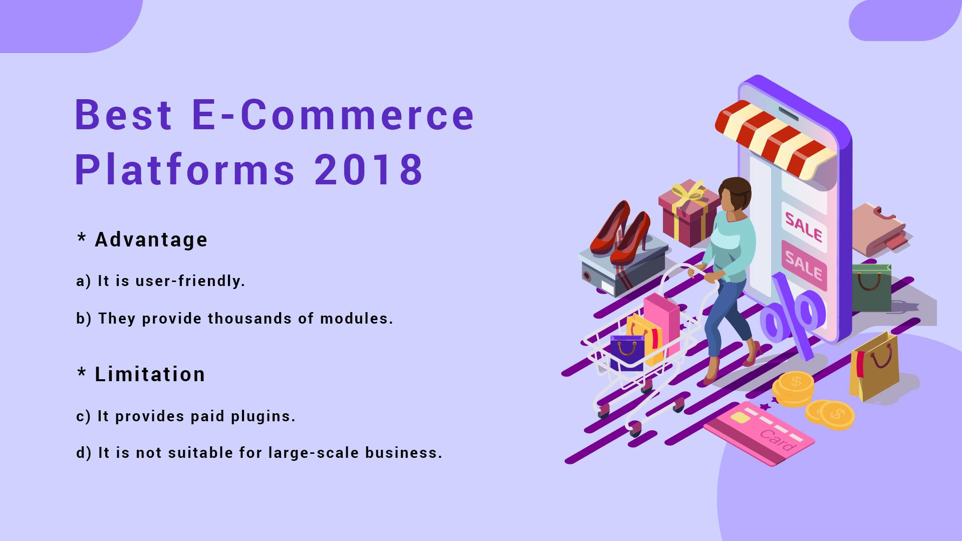 Best E-commerce Platforms 2018