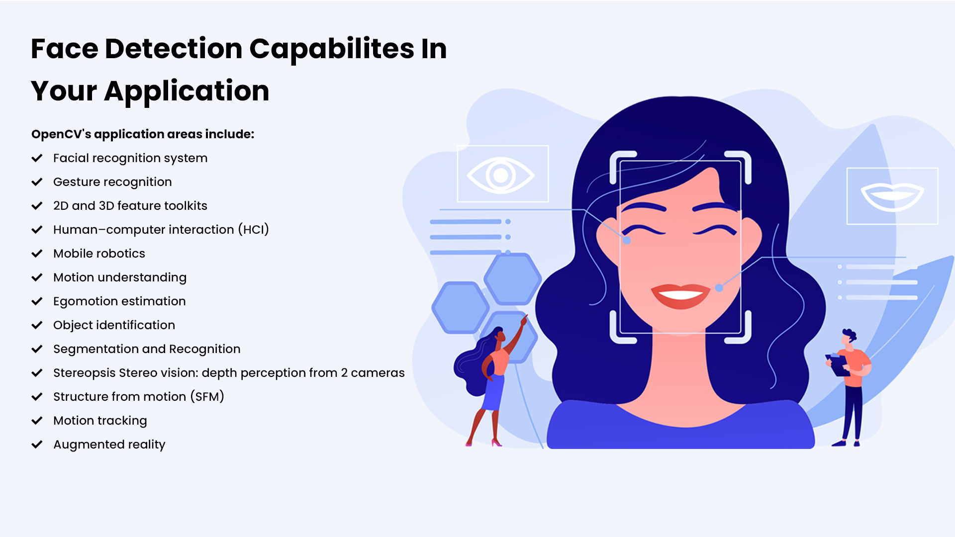 Face Detection Capabilites In Your Application