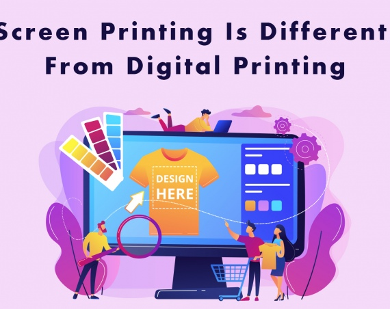 How Screen Printing Is Different From Digital Printing