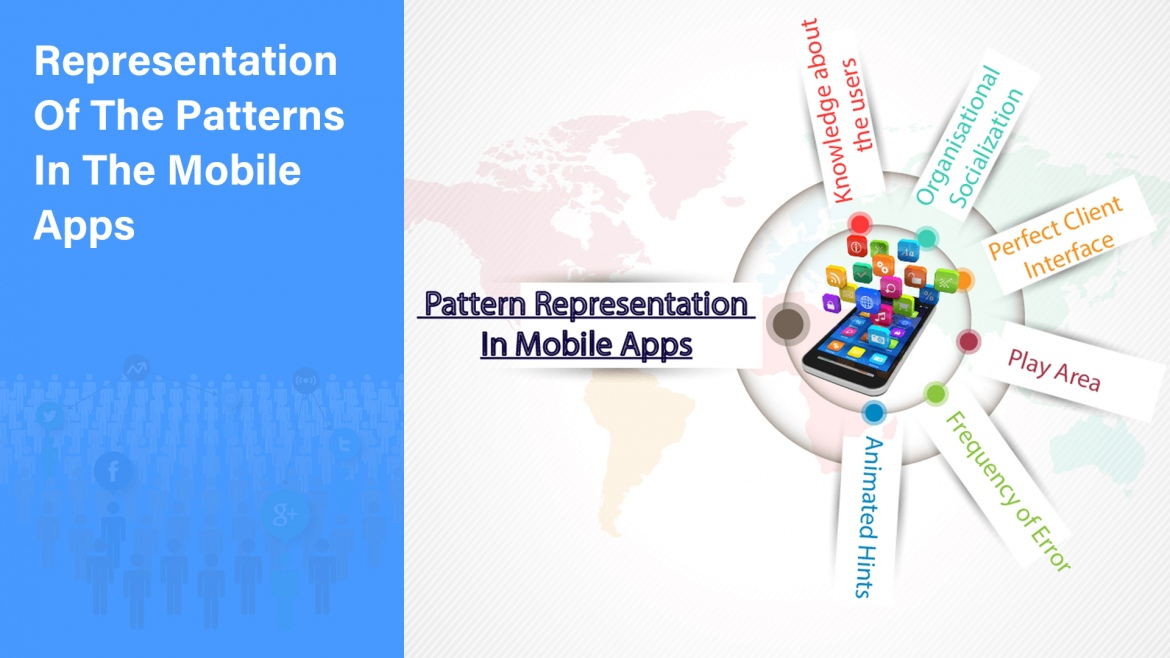 Representation Of The Patterns In The Mobile Apps