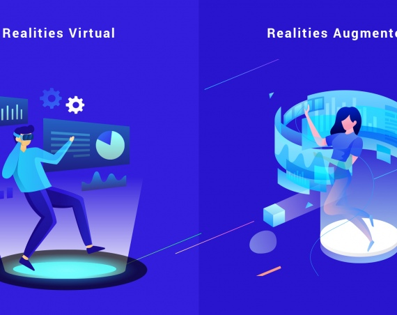 The Alternative Realities: Augmented vs. Virtual