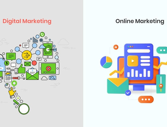 What is the difference between Digital Marketing and Online Marketing