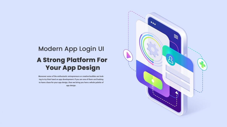 Zoneout – Modern App Login UI – A Strong Platform For Your App Design